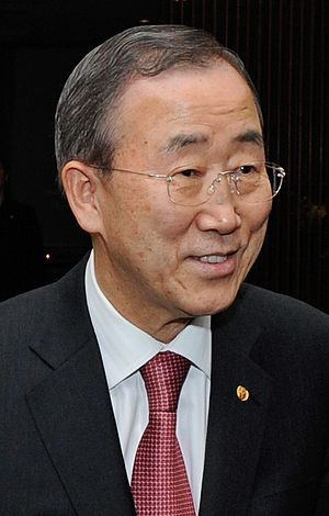Ban Ki-moon, South Korean politician