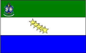 Santa Bárbara del Zulia - Image: Banderacolon