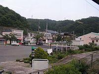 Banetsutousen Natsui eki 2.jpg