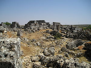 Bara, Syria - Ruins of Bara