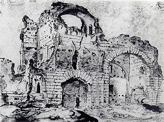 Barbara Baths - Image: Barbarathermen Trier Wiltheim 1620 4