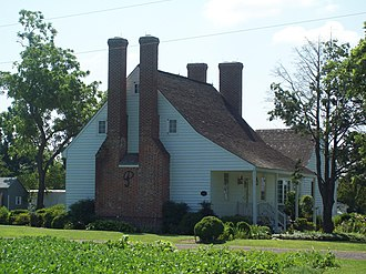 National Register of Historic Places listings in St. Mary's County, Maryland - Image: Bards Field Jul 09