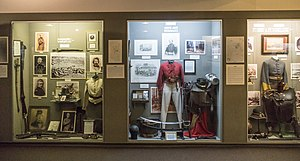 Civil War Museum (Bardstown) - Image: Bardstown Civil War Museum interior