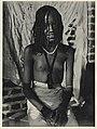 Bare-breasted Baggara Arab girl, Chad (1930).jpg