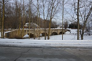Barteau Bridge - Image: Barteau Bridge Shiocton Wisconsin WIS187