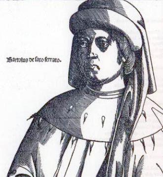 Bartolus de Saxoferrato - Image: Bartolo da sassoferrato