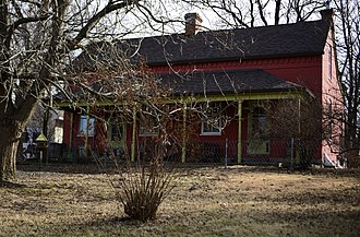 National Register of Historic Places listings in Franklin County, Missouri - Image: Bartsch Jasper House