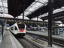 S-Bahn в Базеле SBB