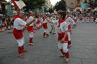 A Ball de bastons stick dance from Catalonia