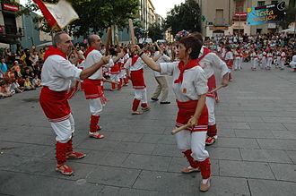 Folk dance - A Ball de bastons stick dance from Catalonia