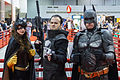 BatWoman The Punisher AND Batman fighting crime at C2E2 2012.jpg