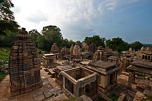 Bateshwar Hindu temples, Madhya Pradesh - Image: Bateshwar Temple Complex 1