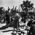 Bazar. Sprzedaż melonów, dyń i arbuzów - Afganistan - 001795n.jpg
