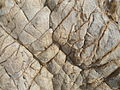 Beach Rocks of Khondalite type at RK Beach.JPG