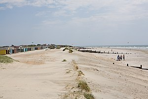 West Wittering - Image: Beach at West Wittering geograph.org.uk 1350222