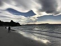 Maria Island-Local community and economy-Beach on Maria Island