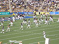 Bears take the field at end of halftime at ASU at Cal 10-4-08 2.JPG