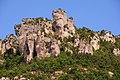Beautiful rock formations high ovrt thr Dourbie canyon (La Gorge du Dourbie) - panoramio.jpg