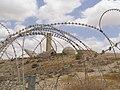 Beersheba, Monument to Negev Brigade 02.jpg
