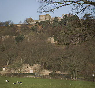 Mid Cheshire Ridge - Beeston Castle hill
