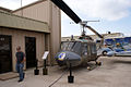 Bell UH-1B Iroquois Huey LSideFront Cavanaugh Flight Museum 7Oct2011.jpg