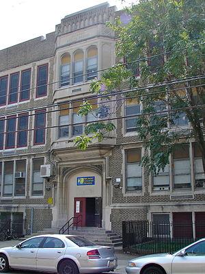 Belmont District, Pennsylvania - Belmont School in Belmont, September 2010