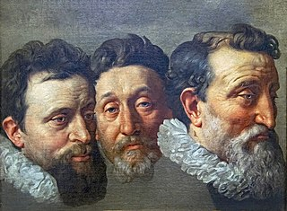 Study of Three Heads of Magistrates