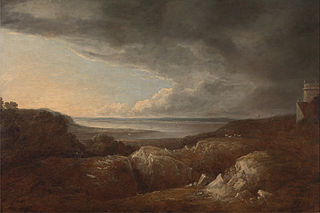 View of the River Severn, near King's Weston, Seat of Lord de Clifford