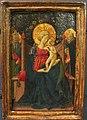 Benozzo (attr.), madonna col bambino, s. domenico e un santo papa, 1440-45 ca.JPG