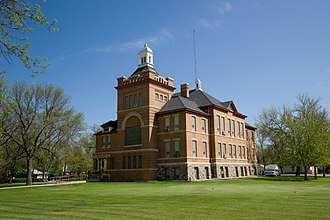 Benson County, North Dakota - Image: Benson County Courthouse 2009