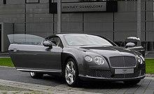 Bentley Continental GT (II) – Frontansicht geöffnet (1), 30. August 2011, Düsseldorf.jpg