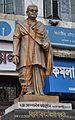 Bepin Behari Ganguly Statue by Ganesh Pal - Bowbazar Crossing - Kolkata 2015-02-09 2193.JPG