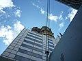Berlin, Kaiser-Wilhelm-Gedächtniskirche, alter Turm, Gerüst 2014-07.jpg