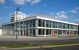Berlin, Mitte, Alexanderstrasse, Kongresshalle