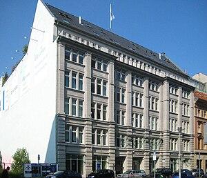 Friedrich Wilhelm Gustav Bruhn - Image: Berlin, Mitte, Mauerstraße 86 88, Geschäftshaus 01