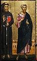 Berlinghiero berlinghieri, madonna col bambino e santi, lucca, 1230-40 ca. 03 francesco e forse giovanni evangelista.jpg