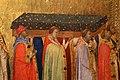 Bernardo daddi, storie di santo stefano, 1337-38 (musei vaticani) 08 traslazione delle reliquie e roma 2.jpg