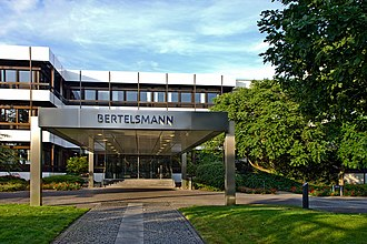 Bertelsmann - Bertelsmann headquarters in Gütersloh