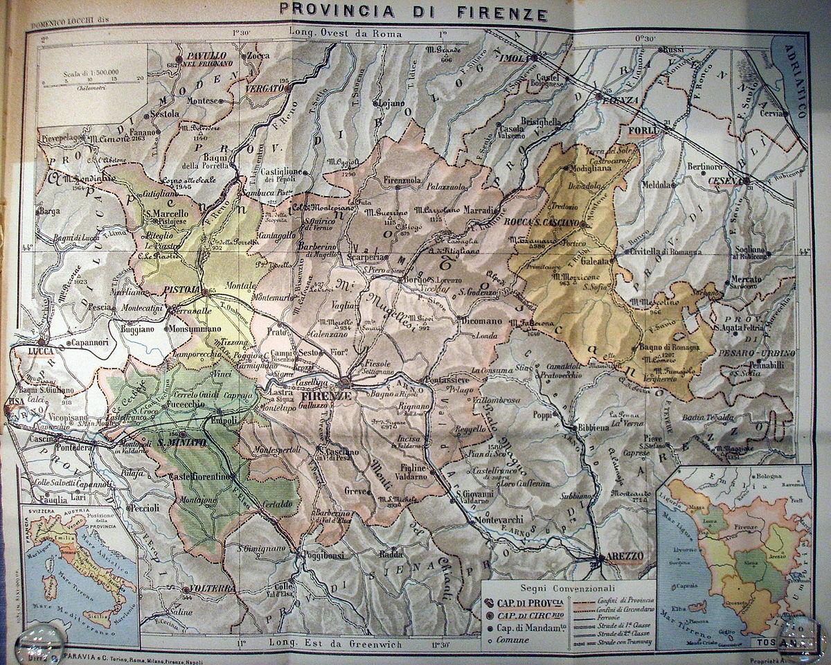 Cartina Toscana Dettagliata Da Stampare.Romagna Toscana Wikipedia