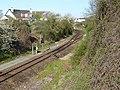 Bifurcation ferroviaire de Mainvilliers Eure-et-Loir France.JPG