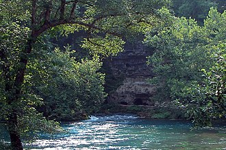 Spring (hydrology) - Image: Big Spring Missouri 1 02Aug 08