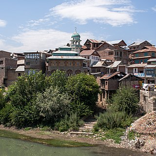 Town in Jammu and Kashmir, India