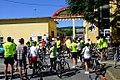 Biker's event at main gate of the stadium in 2017.jpg