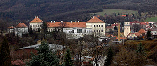 Bílina Town in Ústí nad Labem, Czech Republic