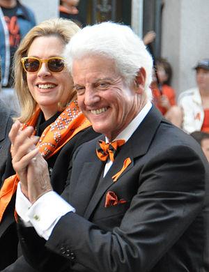 Bill Neukom - Neukom (with wife Sally) at the 2010 Giants World Series parade.