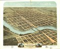 Bird's eye view of the city of Kankakee, Kankakee County, Illinois 1869. LOC 73693358.tif