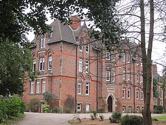 Birkenhead School - Part of the original School building, now housing the Music School