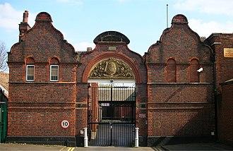 Birmingham Proof House - Gates of the Birmingham Gun Barrel Proof House