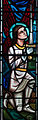 Birr St. Brendan's Church South Transept Prince of Wales Regiment Memorial Window Left Light Archangel Michael 2010 09 10.jpg