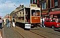 Blackpool & Fleetwood tram 40 in Lord Street - geograph.org.uk - 1060130.jpg
